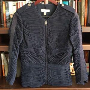 Burberry Navy Zip Jacket